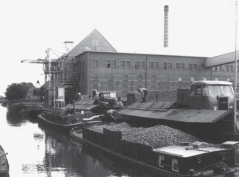 Potato starch factory 'Hollandia' at Nieuw-Buinen